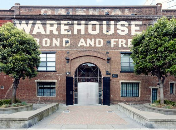 This iconic warehouse in San Francisco was converted into lofts by Edmonds + Lee Architects.